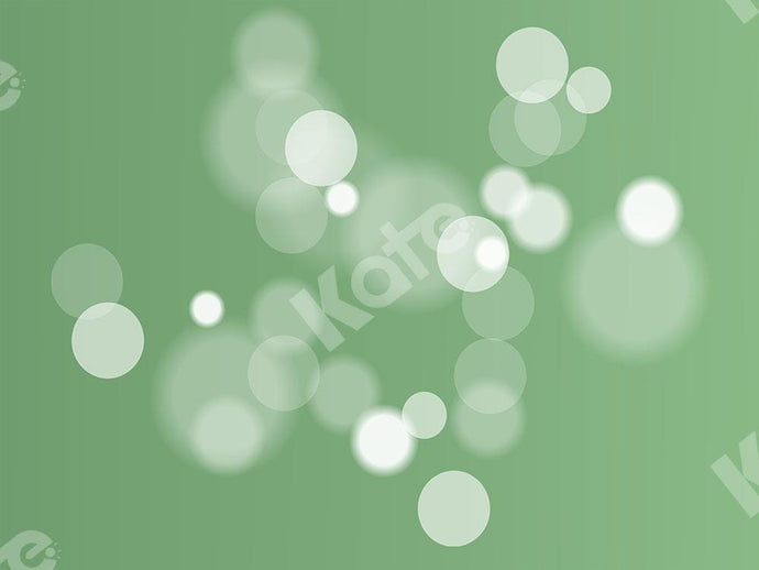 Kate Bokeh Green Backdrop Designed by Chain Photography