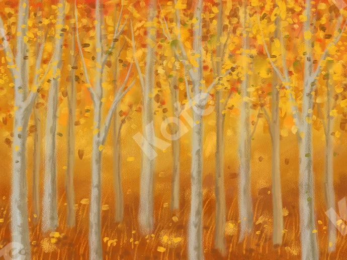 Kate Autumn Backdrop Fine Art Forest Designed by Jia Chan Photography