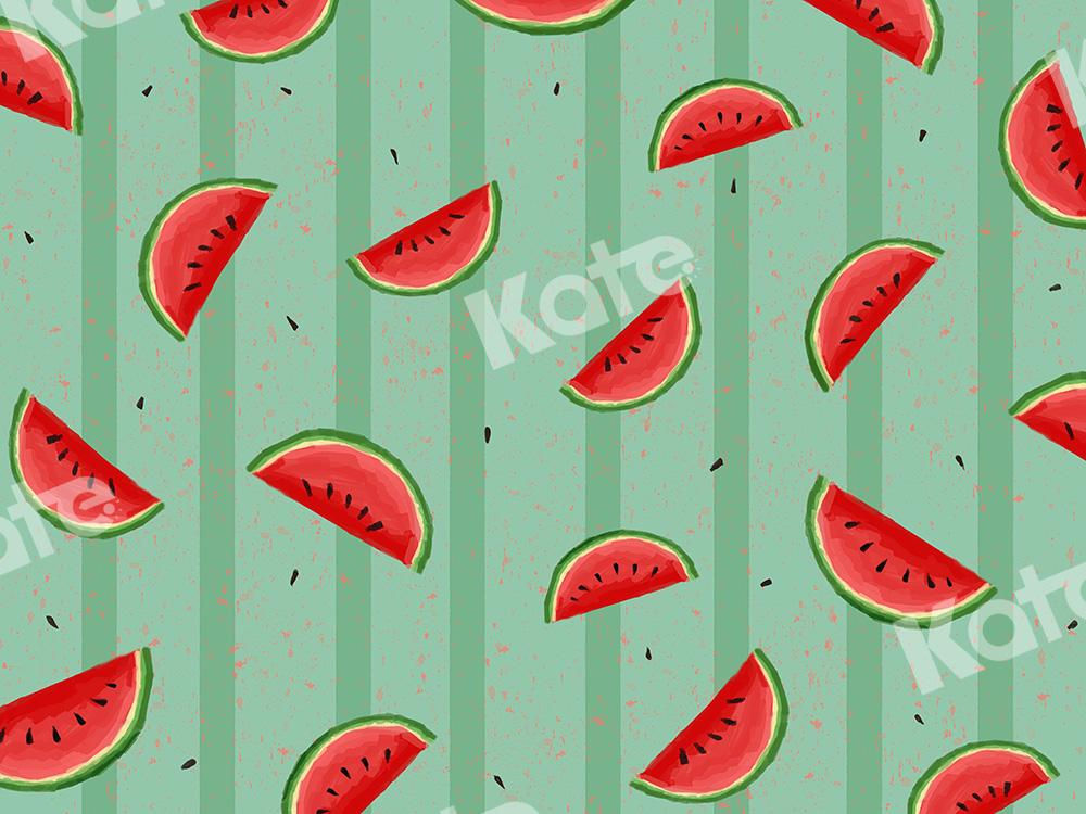 Kate Summer Backdrop Watermelon Designed by Chain Photography