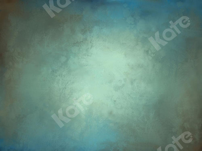 Kate Abstract Backdrop Blue-Green Texture Designed by Kate Image