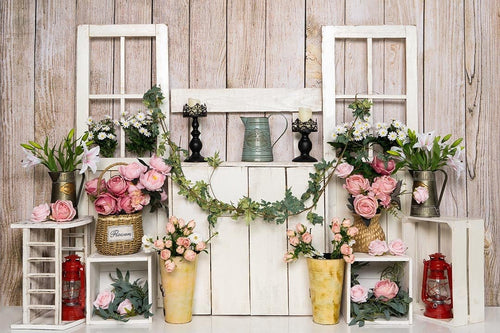 Kate Spring/mother's Day Flower Stand Cake Smash Backdrop Designed by Emetselch