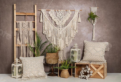 Kate Summer/Mother's day Bohemian Tapestry Warm Tone Backdrop Designed by Emetselch
