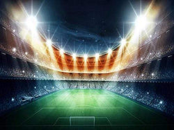 Kate Lights Backgrounds Stadium Sports Backdrop Football Game