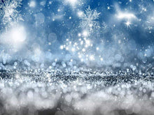 Load image into Gallery viewer, Katebackdrop:Kate Bokeh Christmas Snowflake backdrop for photos