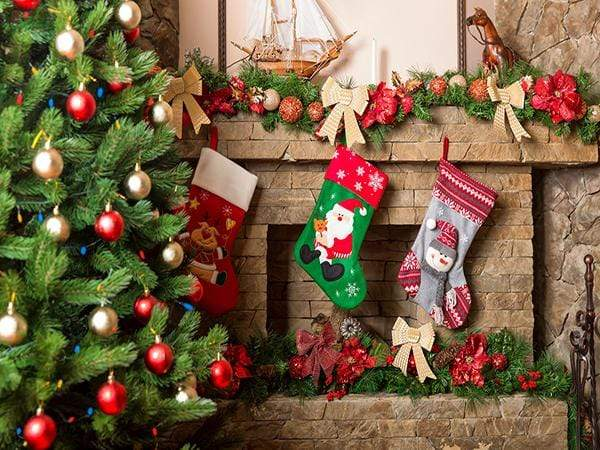 Load image into Gallery viewer, Katebackdrop£ºKate Christmas Socks Background Photography Backdrop