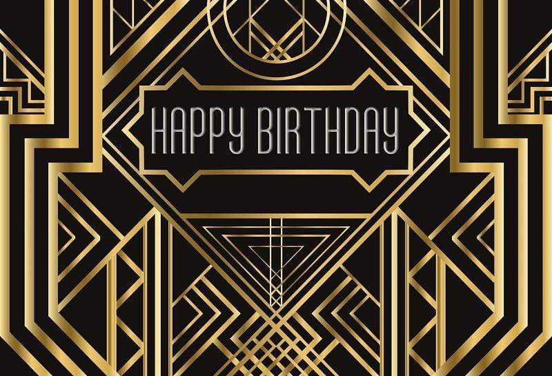Katebackdrop£ºKate Happy Birthday Geometric Background Photography