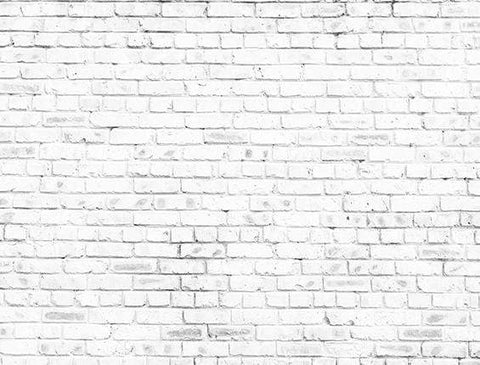 Kate Simple Retro White Brick Wall  Backdrop for Photography