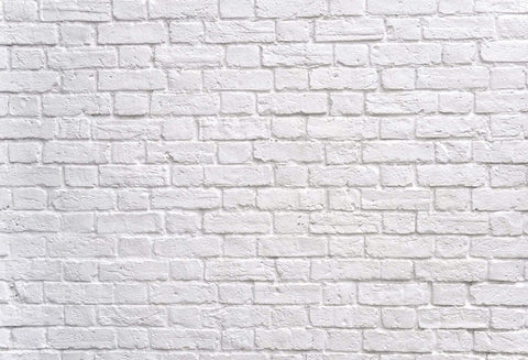 Kate White Brick Wall Background Backdrop Studio