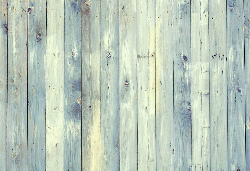 Katebackdrop:Kate Blue and Beige Wood Backdrop for Photography