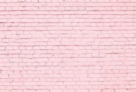 Kate Pink Brick Wall Photography Backdrops
