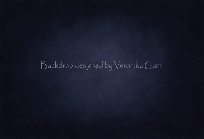 Katebackdrop:Kate Fine Art Navy Blue Backdrop for Photography Designed by Veronika Gant