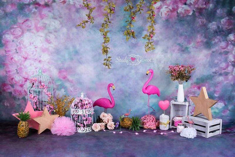 Kate Floral Backdrop for Children Photography Designed by Studio Gumot