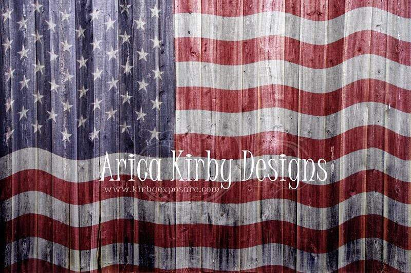Load image into Gallery viewer, Katebackdrop£ºKate Old Glory US Flag Backdrop for Photography designed by Arica Kirby