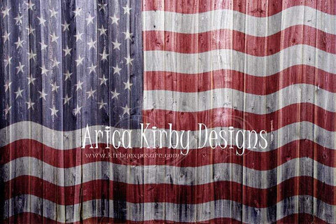 Kate Old Glory US Flag Backdrop for Photography designed by Arica Kirby