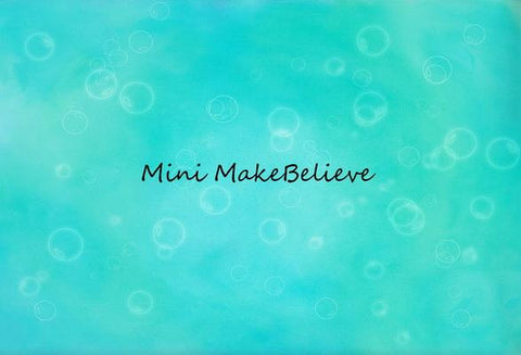 Kate Baby Shower Bubbles Backdrop for Photography Designed by Mini MakeBelieve