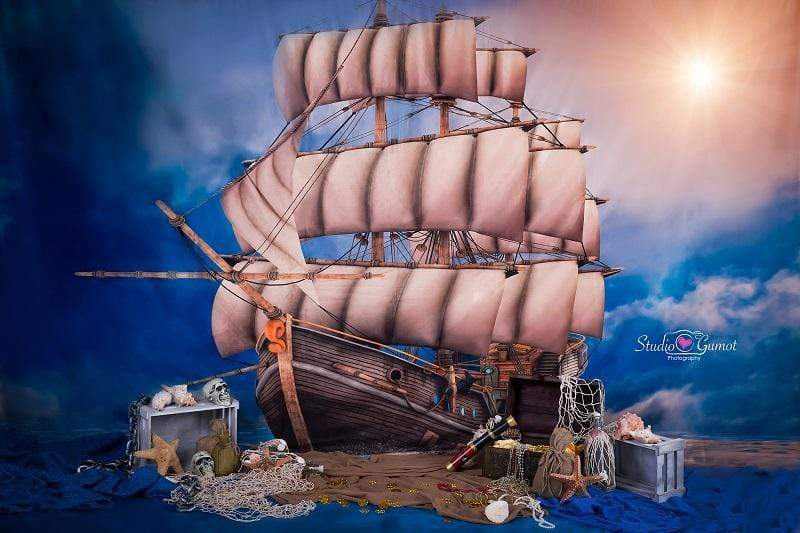 Katebackdrop:Kate pirate backdrop designed by Studio Gumot
