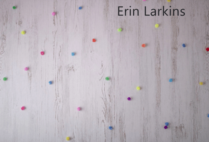 Katebackdrop£ºKate Gray-white Wood with Decorations Children Backdrop for Photography Designed by Erin Larkins