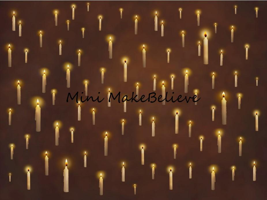 Load image into Gallery viewer, Katebackdrop£ºKate Floating Candle Backdrop for Photography Designed by Mini MakeBelieve
