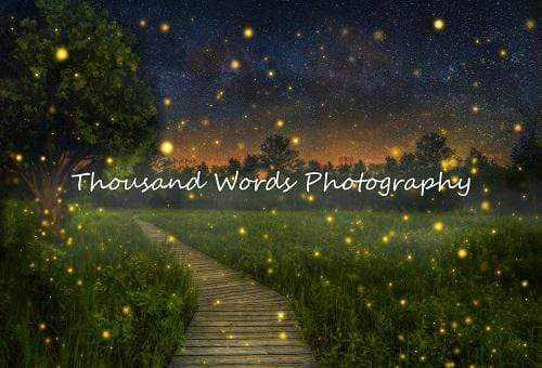 Katebackdrop£ºKate Firefly field Backdrop for Photography Designed by Marina Smith
