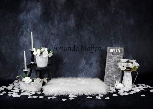 Katebackdrop:Kate Floral Evening with Petals Backdrop for Photography Designed by Amanda Moffatt