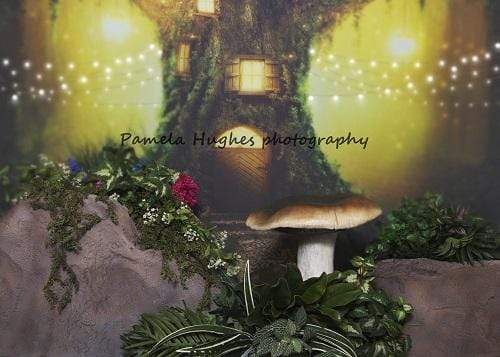 Kate Fairy Children Mushroom Backdrop for Photography Designed by Pamela Hughes photography