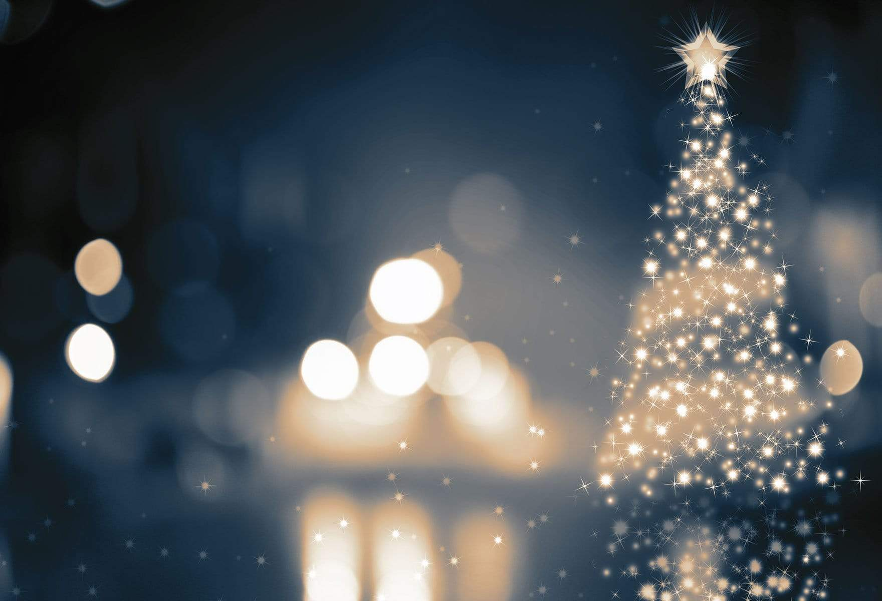 Load image into Gallery viewer, Katebackdrop:Kate Christmas Glitter Light Night Backdrop for Photography