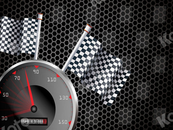 Kate Speedometer Racing Sport Backdrop for Photography