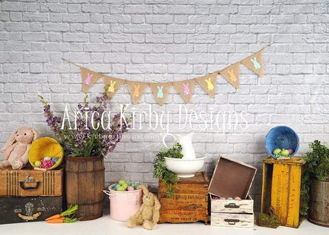 Kate Hoppy Easter Backdrop designed by Arica Kirby