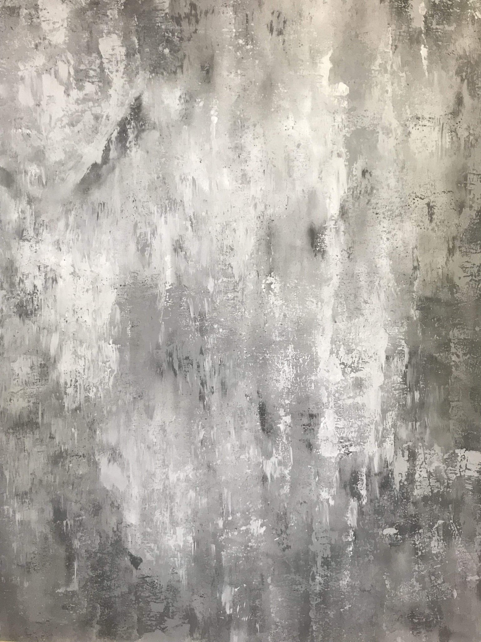 Load image into Gallery viewer, Katebackdrop£ºKate Hand Painted Abstract Texture Bright Grey White Spray Backdrops