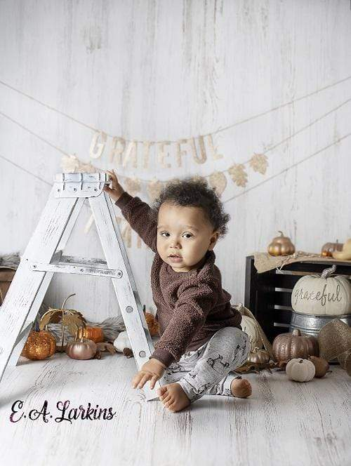Load image into Gallery viewer, Katebackdrop£ºKate Children Golden Fall Thanksgiving Day Backdrop for Photography Designed By Erin Larkins