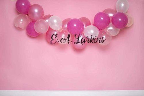 Kate Pink Balloon Backdrop for Photography Designed By Erin Larkins