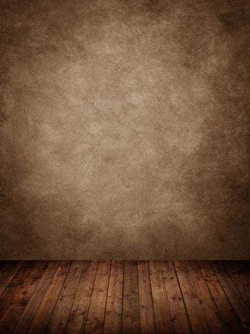 Katebackdrop:Kate Brown texture backdrop with wood floor for photography