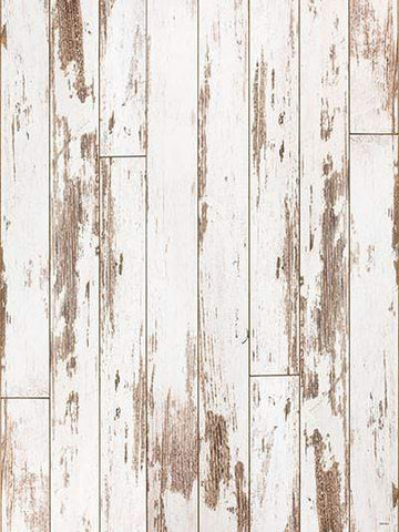 Katebackdrop:Kate Retro Style White Wooden Wall Backdrops