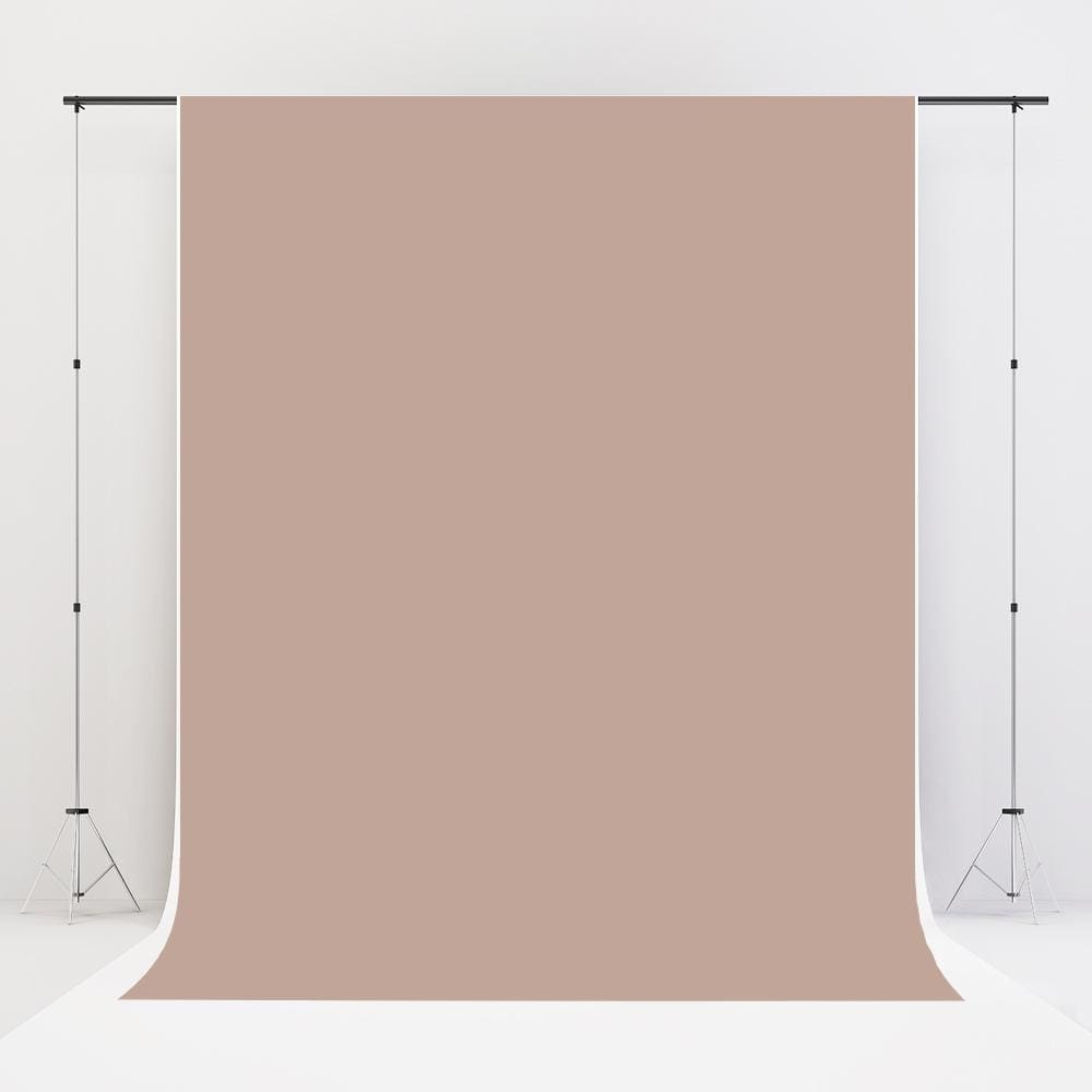 Load image into Gallery viewer, Kate Khaki Fabric Cloth Backdrop Solid Backdrop Mocha Background - Katebackdrop