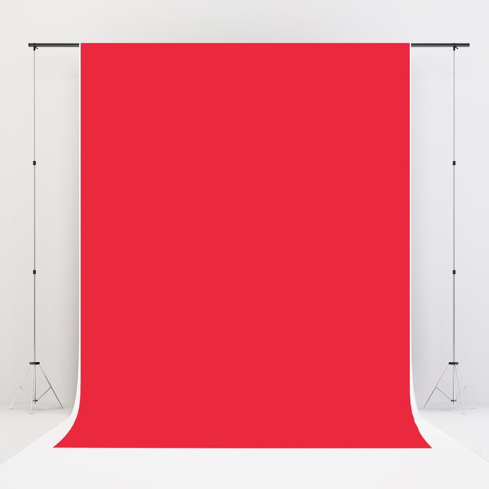Kate Red Solid Cloth Photography Backdrop Portrait
