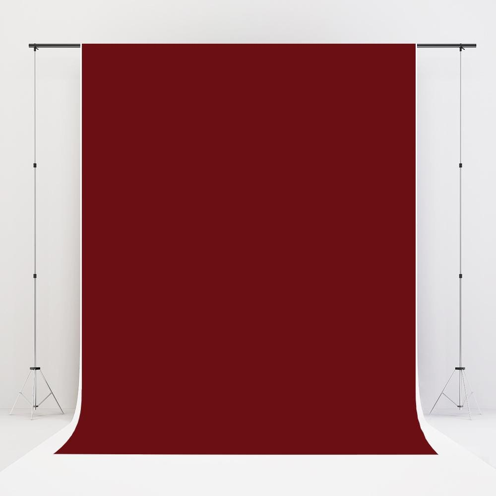 Kate Deep Red Solid Cloth Photography Fabric Backdrop - Katebackdrop