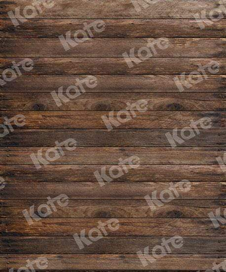 Load image into Gallery viewer, Katebackdrop:Kate Dark Wooden Backdrop For Children Picture