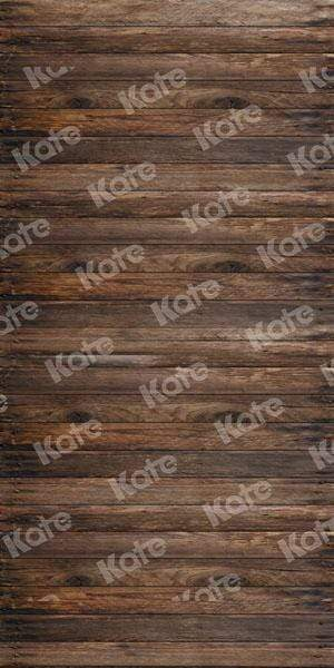 Kate Dark Wooden Backdrop For Children Picture