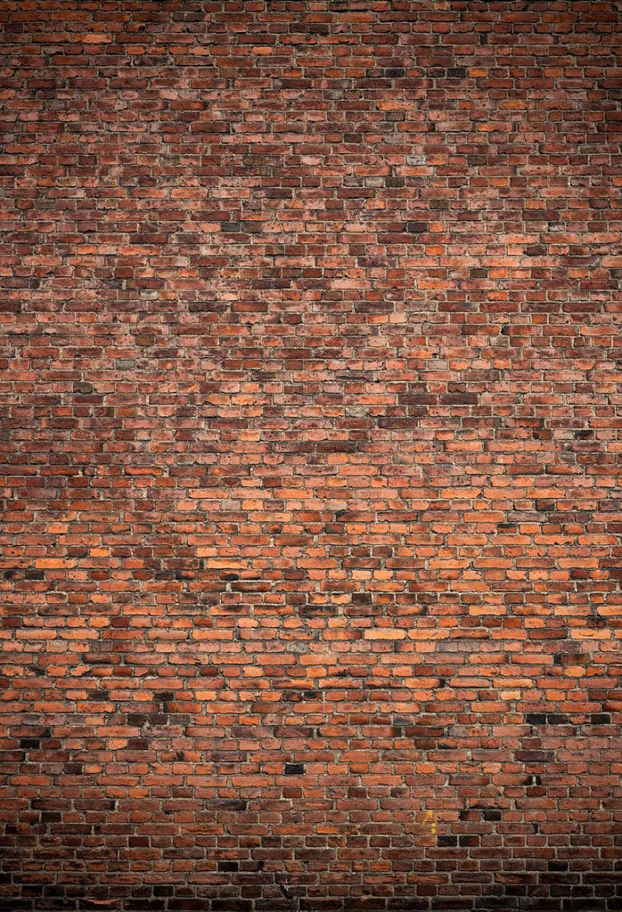 Katebackdrop£ºKate Brown Red Brick Wall Rustic Style Backdrop for photography