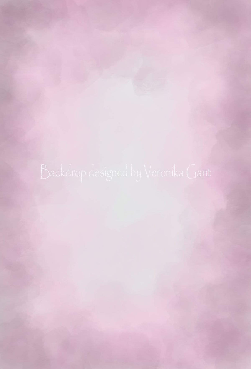 Katebackdrop:Kate Fine Art Watercolor Blend Pink Backdrop for Photography Designed by Veronika Gant