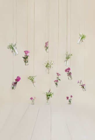 Kate Mothers Day Mason Jar Floral Backdrop Designed by Danette Kay Photography