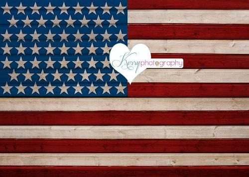 Kate Independence Day USA Backdrop for Photography Designed by Kerry Anderson