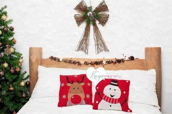 Kate Christmas Tree with Bed Backdrop Designed by Kerry Anderson