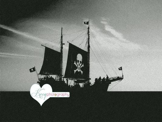 Kate Pirate Backdrop for Photography Designed by Kerry Anderson