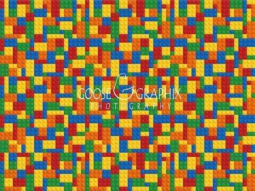 Load image into Gallery viewer, Katebackdrop£ºKate Lego Brick Wall Backdrop for Photography Designed by Amanda Moffatt