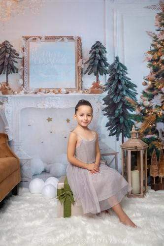 Katebackdrop:Kate Christmas Decoration Room Backdrop for Photography