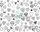 Kate Valentine's Doodles Backdrop Designed By Mandy Ringe Photography