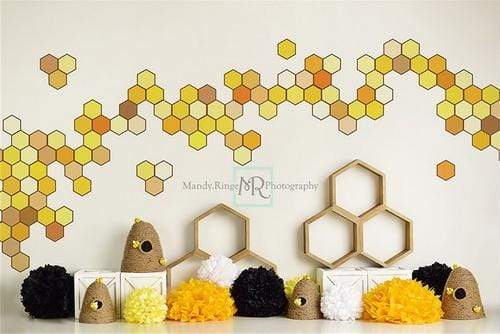 Kate Children Happy Bee Day Backdrop Designed By Mandy Ringe Photography