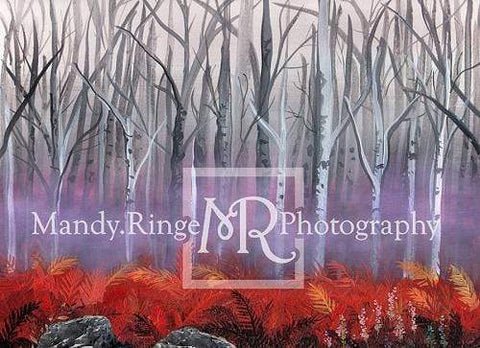 Kate Frozen Forest Backdrop Designed By Mandy Ringe Photography