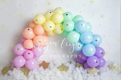 Kate Balloons Garland Children Backdrop Designed by Megan Leigh Photography
